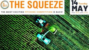 The Squeeze: Στις 14 Μαΐου ο pitching διαγωνισμός για Agri-Food Startups
