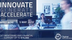 EIT Digital Venture Program 2019: Ξεκίνησαν οι αιτήσεις για τον νέο κύκλο
