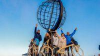 Από τη Γαύδο στο Nordkapp με το ελληνικό ξύλινο ποδήλατο της COCO-MAT