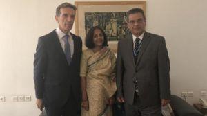 Προετοιμασία για τη συμμετοχή της Ινδίας ως Τιμώμενης Χώρας στην 84η ΔΕΘ