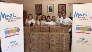 Μασούτης: Στρατηγική συνεργασία με την αρχιεπισκοπή για το πρόγραμμα «Μαζί, όπου υπάρχει ανάγκη»