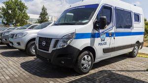 Παραλαβή νέων οχημάτων Nissan από την Ελληνική Αστυνομία