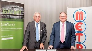 Συνεργασία METRO και Schneider Electric
