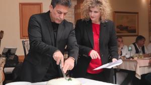 Η εταιρεία Αγγελάκης έκοψε την πρωτοχρονιάτικη πίτα της
