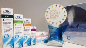 Η φαρμακευτική εταιρεία Γερολυμάτος International διακρίθηκε στα φετινά Greek Exports Awards 2018