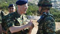 Επίσκεψη Αρχηγού ΓΕΣ σε Κάλυμνο, Πάτμο και Λέρο
