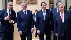 Κυπριακό: Έληξαν οι εργασίες της Διάσκεψης