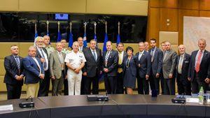 Συνάντηση Καμμένου με αντιπροσωπεία του AHEPA