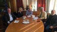 Συνάντηση Αποστόλου με τους Δημάρχους της Βόρειας Εύβοιας