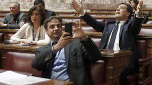 Ένταση στη Βουλή για την Πράξη Νομοθετικού Περιεχομένου
