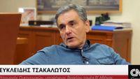 Ο Ευκλείδης Τσακαλώτος στο CNN GREECE