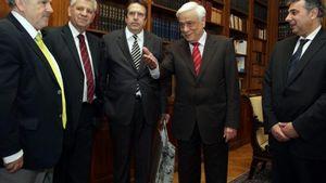 Επίσκεψη του Προεδρείου της ΕΣΕΕ στον Πρόεδρο της Δημοκρατίας