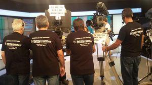 Διαμαρτυρία τεχνικών του Star για τις τηλεοπτικές άδειες