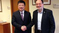 Συνάντηση Λαφαζάνη με τον Κινέζο Πρέσβη