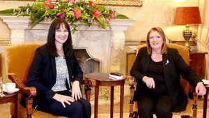 Κουντουρά: Συνάντηση με την Πρόεδρο της Μάλτας