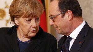 Προτροπή Μέρκελ - Ολάντ να βρεθεί λύση με την Ελλάδα