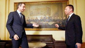 Τι συζήτησαν Στουρνάρας- Μητσοτάκης κατά τη συνάντησή τους