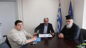Περιφέρεια Δυτικής Ελλάδας: Συνεργασία με την Μητρόπολη Ηλείας