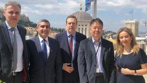 ΕΣΕΕ: Συνάντηση με τον Πρέσβη της Ιαπωνίας στην Ελλάδα
