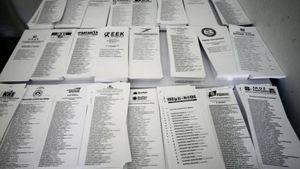Κόπηκαν 150.000 δέντρα για να φτιαχτούν τα ψηφοδέλτια των εκλογών
