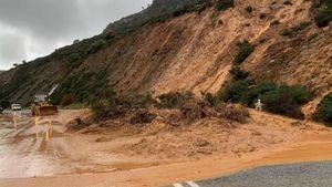 Ρέθυμνο: Παραμένουν τα προβλήματα λόγω των συνεχόμενων βροχοπτώσεων στο οδικό δίκτυο