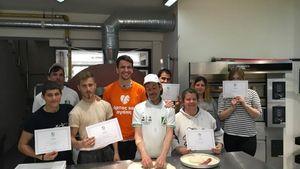 Επιτυχές το σεμινάριο παρασκευής pizza από τους «Άρτος και Αγάπη» και Accademia Pizzaioli