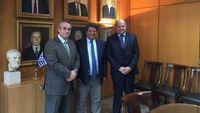 """Πρωτόκολλο συνεργασίας υπέγραψαν ο""""Συνήγορος του Καταναλωτή"""", το Ε.Κ.Κ. Ελλάδας και η Κ.Ε.Ε.Ε."""
