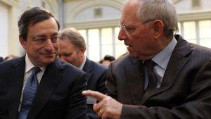 Διαμάχη Ντράγκι - Σόιμπλε για τη χαλάρωση της νομισματικής πολιτικής