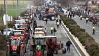 Κινητοποιήσεις αγροτών: Κλειστή η Αθηνών- Πατρών στο Αίγιο