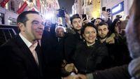 Ζαχαροπλάστης θαυμαστής του Τσίπρα στην Κωνσταντινούπολη έσπευσε να τον κεράσει σιροπιαστά γλυκά