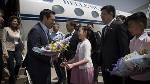 Αλέξης Τσίπρας: Η Ελλάδα γέφυρα ανάμεσα στην Κίνα και την Ευρώπη