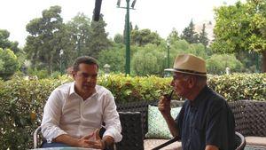 Συνάντηση Τσίπρα με τον Βασίλη Βασιλικό