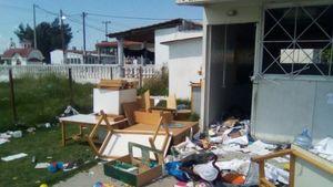 Θεσσαλονίκη: Γυαλιά καρφιά σε νηπιαγωγείο που βρίσκεται σε οικισμό Ρομά