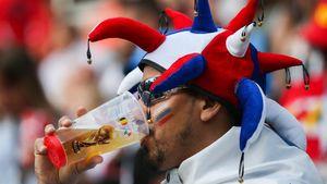 Μουντιάλ: Κατά 8%-20% αυξήθηκε η κατανάλωση μπύρας στη Ρωσία