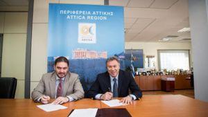 «Πρωτόκολλο Συνεργασίας» μεταξύ Περιφέρειας Αττικής και ΕΞΑΑΑ