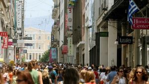 Μείωση 2,2% του όγκου των λιανικών πωλήσεων