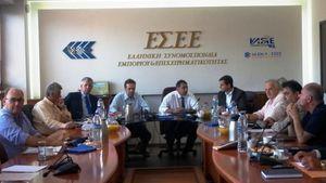 ΕΣΕΕ: Συναντήσεις με «Λαϊκή Ενότητα» & Ποτάμι