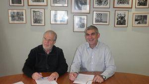 Ανανέωση Συνεργασίας Κτήματος Κυρ Γιάννη και Β.Σ. Καρούλιας
