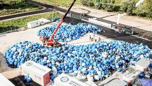Δεύτερο παγκόσμιο ρεκόρ Γκίνες σημείωσε η Ανταποδοτική Ανακύκλωση