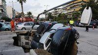 Έρευνα: Ποιες περιοχές της Αθήνας κινδυνεύουν από καθιζήσεις