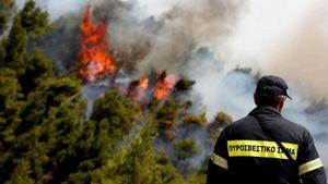 Υπό πλήρη έλεγχο η φωτιά στην Αλόννησο