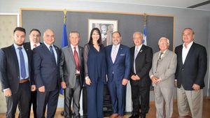 Κουντουρά: Συνάντηση με τον νέο Πρόεδρο τηςAHEPA, George Loucas