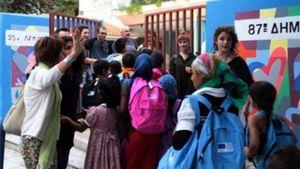 Εισβολή Χρυσαυγιτών σε δημοτικό σχολείο στο Πέραμα