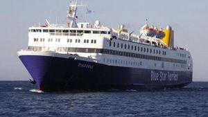 Προσέκρουσε στο λιμάνι της Χίου το πλοίο «Διαγόρας»