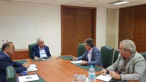 Δραγασάκης: Συνάντηση με το Δήμαρχο Ρόδου