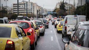 Χάος στους δρόμους της Αθήνας προκάλεσε η επίσκεψη Μέρκελ