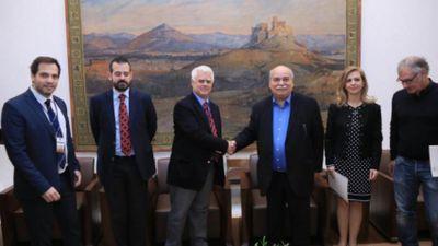 Συνάντηση ενημέρωσης των Ελλήνων Προσκόπων με τον Πρόεδρο της Βουλής