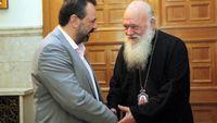 Αραχωβίτης: Συνάντηση με τον Αρχιεπίσκοπο Αθηνών και πάσης Ελλάδας κ. Ιερώνυμο