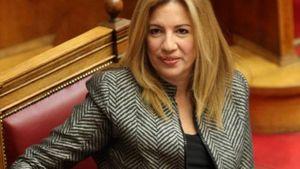 """Γεννηματά για Τσίπρα: """"Απροετοίμαστος στη συνάντηση με τον Ερντογάν"""""""