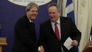 Συνάντηση Κοτζιά & Τζεντιλόνι: Σε νέα τροχιά οι ελληνοϊταλικές σχέσεις